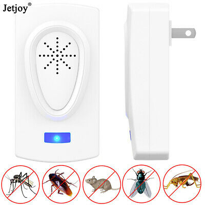Electronic Ultrasonic Pest Repeller Anti Mosquito Insect Killer Mice Rat Control