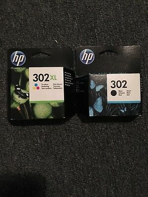 Genuine Hp 302 Xl Colour And Black Combo