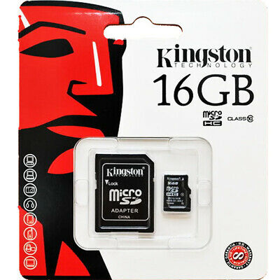 Kingston 16 GB 16GB MicroSD Micro SD TF SPEICHERKARTE Memory Card Class 10