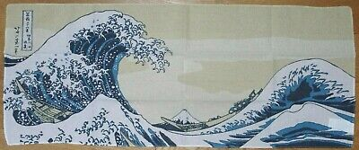 HOKUSAI THE GREAT WAVE New JAPANESE SAMURAI HEAD-BAND TENUGUI HACHIMAKI Cotton