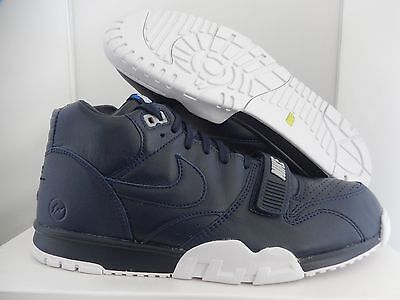 online store 0259e a575f Nike Air Trainer 1 Mid Sp fragment Obsidian Navy Blue-White Sz 7