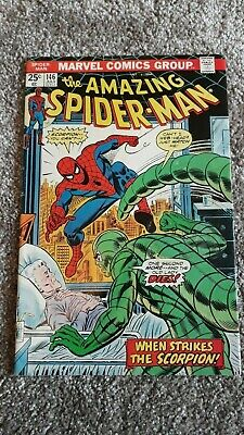 Marvel Comics The Amazing Spider-Man Number 146 - July 1975 - Original