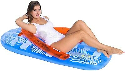 Inflatable Swimming Pool Air Lounge Designer Fashion Chair Lounger Lilo Beach
