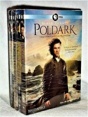 Poldark (DVD, 2018, 12-Disc Set) NEW late 18th century American indepedence