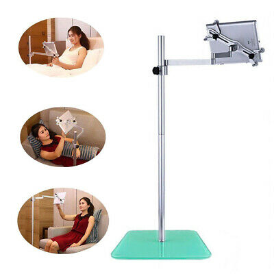 Heavy Duty Floor Tablet Stand Mount Holder Adjustable For iPad up to 11 Inch