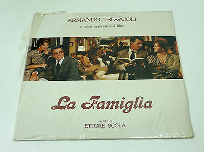 "sealed Italy Soundtrack LP - ARMANDO TROVAJOLI ""La Famiglia"" Italo ost General M"