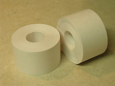 "24 ROLLS - 2"" x 100 Feet Each - Water Activated WHITE KRAFT PAPER TAPE"