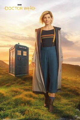 DR WHO Poster - 13TH DOCTOR JODIE WHITTAKER - DR WHO TV SERIES POSTER FP4636
