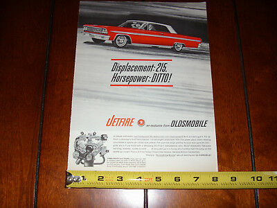 1963 OLDSMOBILE JETFIRE Turbocharged V-8 ~ Nice Original