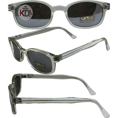 47ad8d3639e1 Chill KD s Clear Frame Silver Mirror Sons of Anarchy Sunglasses W Pouch 2200