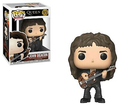Queen Funko POP! Rocks John Deacon Vinyl Figure #95