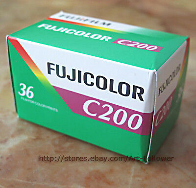 10 Rolls FUJi C200 Print 135/36 35mm 200iso 36exp Film Fresh 2021 ~