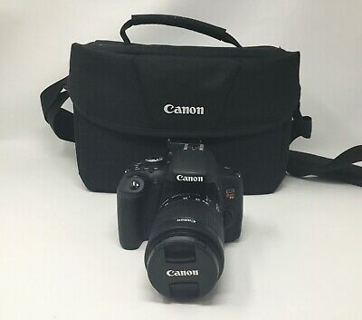 Canon EOS Rebel T6i 24.2MP DSLR Camera Kit with 18-55mm Lens **NO RESERVE**