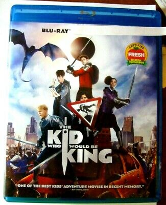 "Kid Who Would Be King, The ""  Blu-Ray Movie Disc, Blu-ray Case, Artwork"