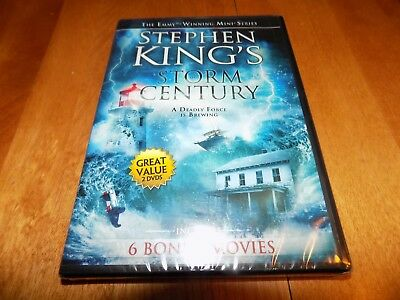 STEPHEN KING'S STORM CENTURY TV King Mini Series + 6 Bonus Movies DVD SET NEW