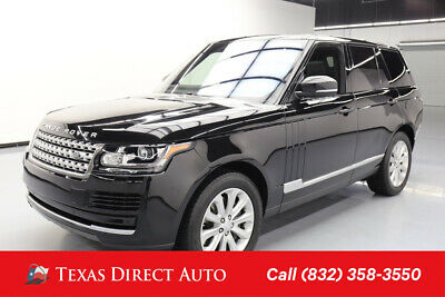 2016 Land Rover Range Rover HSE Texas Direct Auto 2016 HSE Used 3L V6 24V Automatic 4WD SUV Premium
