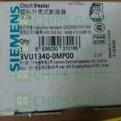 1PCS Brand NEW Siemens Motor Protection Circuit Breaker 3VU1340-0MP00 Fast Ship