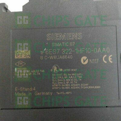 1PCS Used Siemens PLC module 6ES7 322-1HF10-0AA0 Tested in Good condition