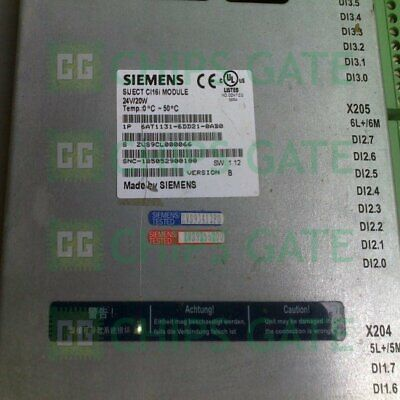 1PCS USED SIEMENS 6AT1131-6DD21-0AB0 Tested in Good condition Fast Ship