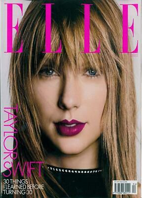 US Elle Magazine April 2019: TAYLOR SWIFT COVER STORY & FEATURE