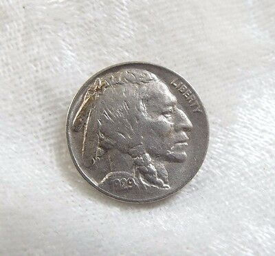 1929 Buffalo Nickel ALMOST UNCIRCULATED 5-Cents