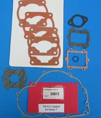 TM ICC Gasket kit ( missing one piece) close out