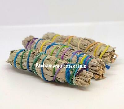 "Lot of 50 Fifty White Sage Smudge Sticks / Wand 3""-4"" House Cleansing"