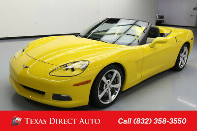 2009 Chevrolet Corvette w/4LT Texas Direct Auto 2009 w/4LT Used 6.2L V8 16V Manual RWD Convertible Bose OnStar