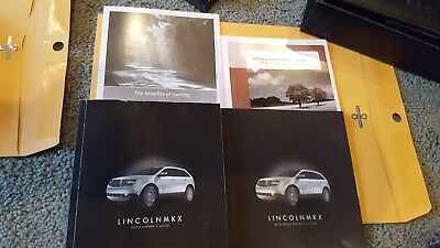 lincoln mkx owners manual 2010