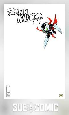 Spawn Kills Everyone Too #4 Cover C Sketch Mcfarlane (Image 2019) Comic