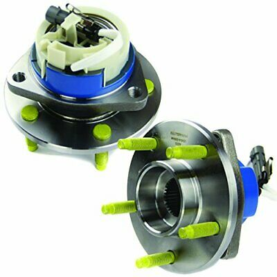 MOTORMAN 513121 Front ABS Wheel Hub and Bearing Set  Both Left and Right 2 Pair