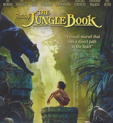 Disney 'The Jungle Book' 2016 DVD Only-New Removed from Multi Pack, No Case