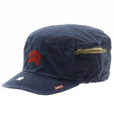 b4ae9eaca75 KURTZ MEN S FRITZ Airborne Navy Cotton Military Cap Hat -  29.95 ...