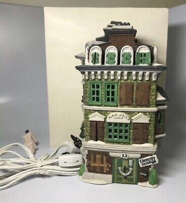 Dept 56 Flat of Ebenezer Scrooge Dickens Village Heritage Collection 5587-5