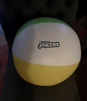 """NEW TruTV Authentic Impractical Jokers BEACH BALL from """"Live Show"""" 3/20/2019"""