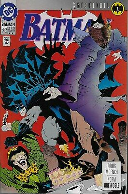 Batman (Vol.1) No.492 / 1993 Knightfall Part 1 (2nd) Doug Moench Norm Breyfogle