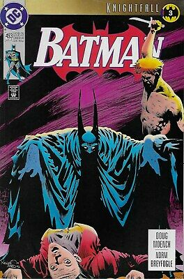 Batman (Vol.1) No.493 / 1993 Knightfall Part 3 / Doug Moench & Norm Breyfogle