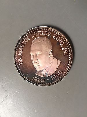 Dr. Martin Luther King Jr 1929-1968 I Have Seen The Promised Land Silver Coin