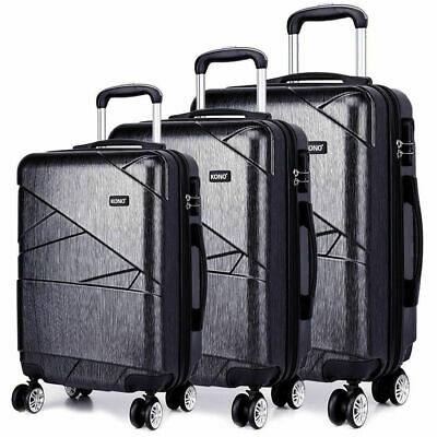 """New Travel Luggage 4 Wheels Trolleys Suitcase Bag Hard Shell Hand Case S3 28"""""""