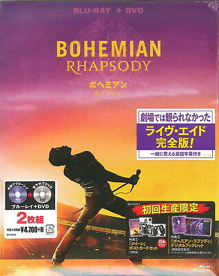 QUEEN-BOHEMIAN RHAPSODY-JAPAN BLU-RAY+DVD L34 zd