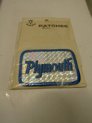 Nib Old King's Prism Patch Plymouth Advertising Dealer
