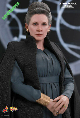 Ready Hot Toys Star Wars Ep Viii The Last Jedi Leia Organa Carrie Fisher Mms459