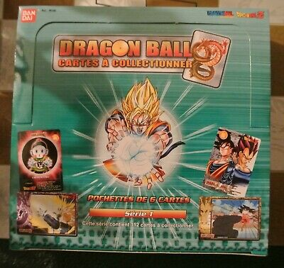 Dragon Ball BOITE COMPLETE Boosters de Cartes à collectionner Skill cards FR