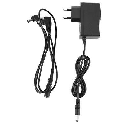 Pro 9V Guitar Effect Pedal Power Supply 3 way Daisy Chain Cable with EU Adapter