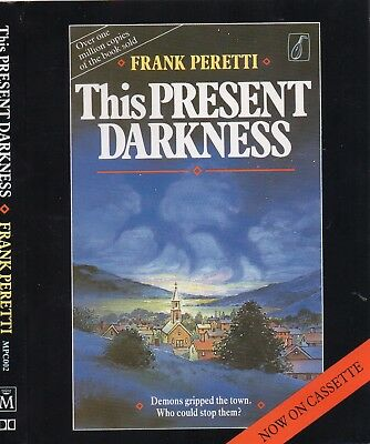 THIS PRESENT DARKNESS * Frank Peretti * Audiobook * 2 Cassettes *