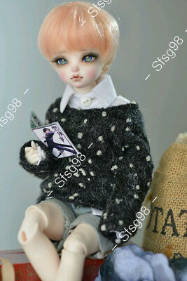 1//6 Bjd Ball Jointed Doll Lab Chibi Moe Secondary Yuan With Face Make Up Gfit A+
