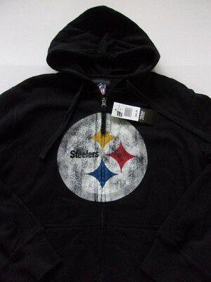timeless design 5af08 184a3 NFL PITTSBURGH STEELERS Big and Tall Mens Majestic Full Zip ...
