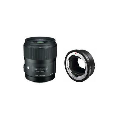 Sigma 35mm f/1.4 DG HSM ART Lens for Canon DSLRs with MC-11 EF To Sony Converter