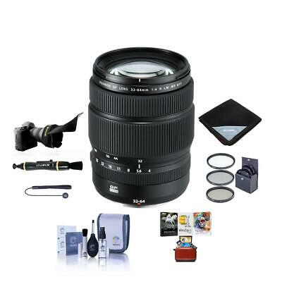 Fujifilm GF 32-64mm f/4 R LM WR Wide-Angle Zoom Lens With Free MAC Accessory Kit