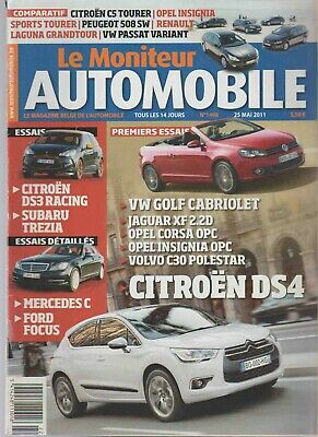 Magazine *LE MONITEUR DE L'AUTOMOBILE*  N°1498 - 2011.(Citroen DS4)